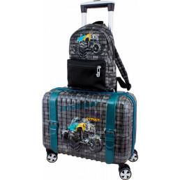 Чемодан DeLune Lune-003 + рюкзак