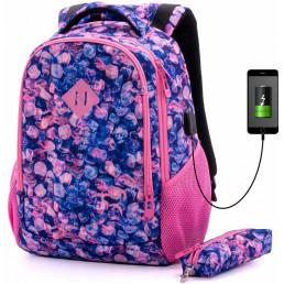Рюкзак с USB SkyName 57-20