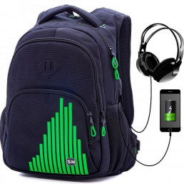 Рюкзак с USB SkyName 90-114